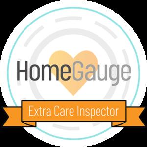 HomeGauge Extra Care Inspector Badge